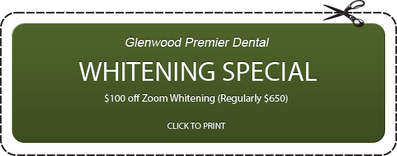 Whitening Special - $100 Off Zoom Whitening (Regularly $650)